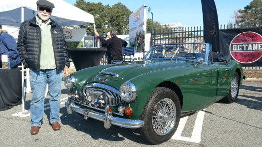 Caffeine and Octane Car of the Month, March 2017:  Bobby's 1966 Austin Healey 3000 Mark III BJ8 Convertible